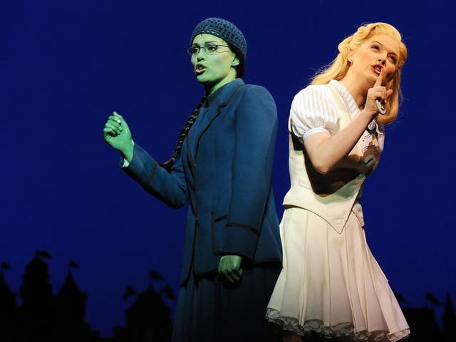<p>File image: Broadway musical 'Wicked' during the preview in Sydney on September 10, 2009. </p>