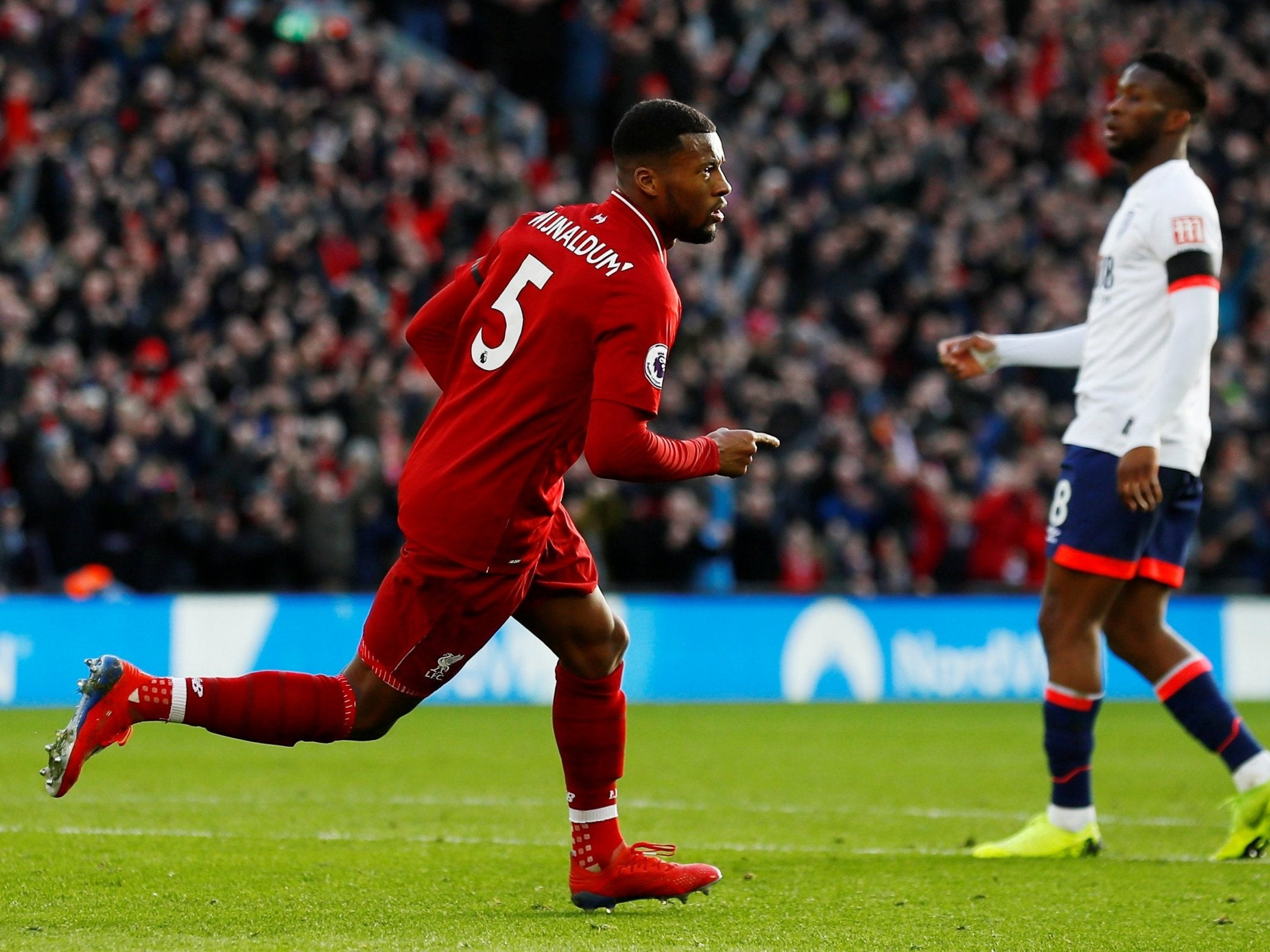 Liverpool vs Bournemouth player ratings: Mohamed Salah and ...