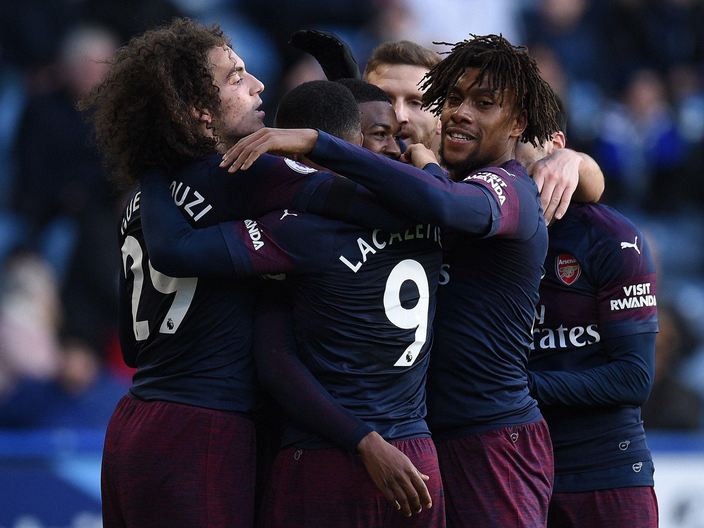 Arsenal Vs Huddersfield: Huddersfield 1-2 Arsenal: Alex Iwobi And Alexandre