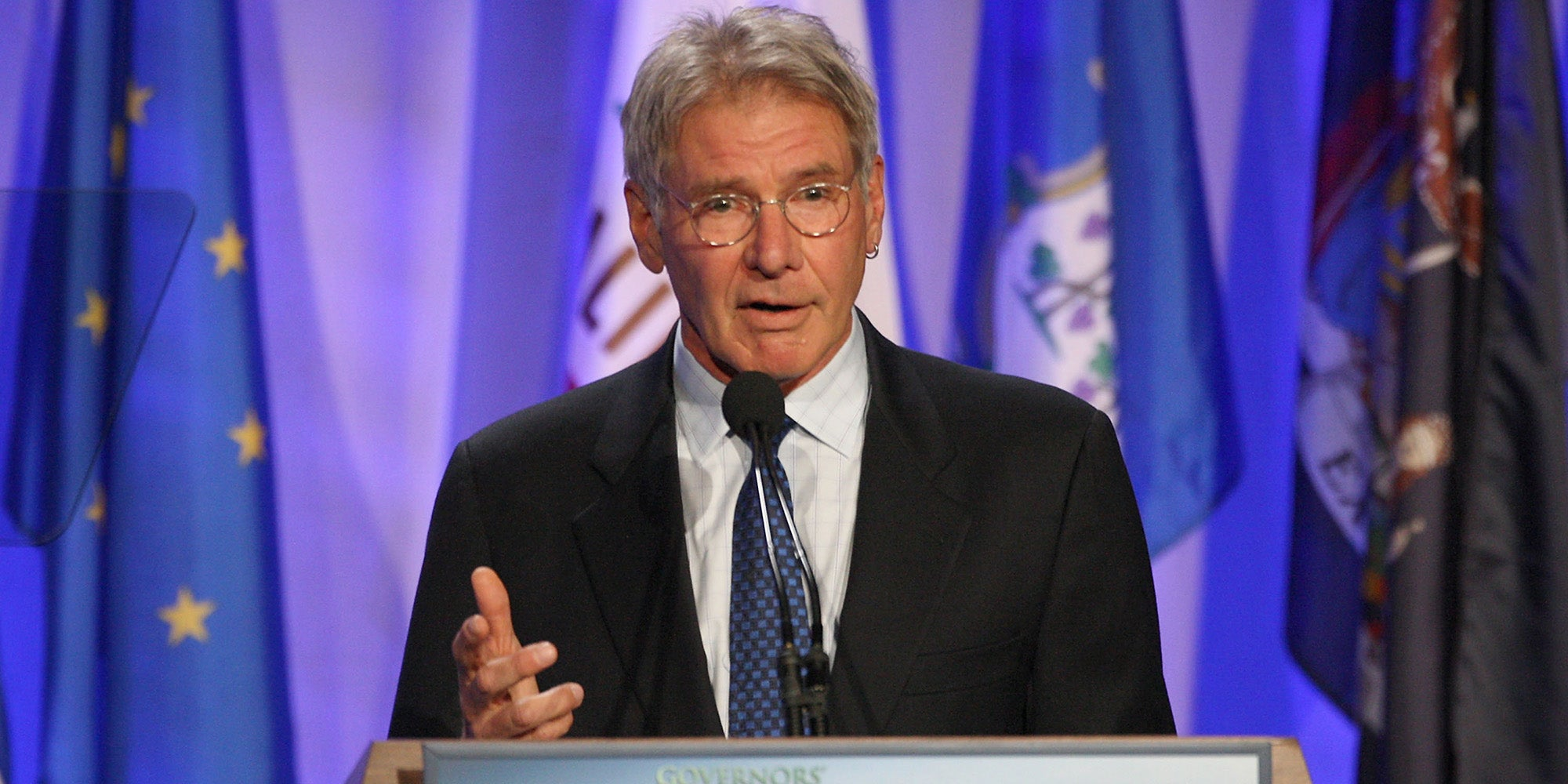 Harrison Ford warns of apocalyptic catastrophe in climate change video