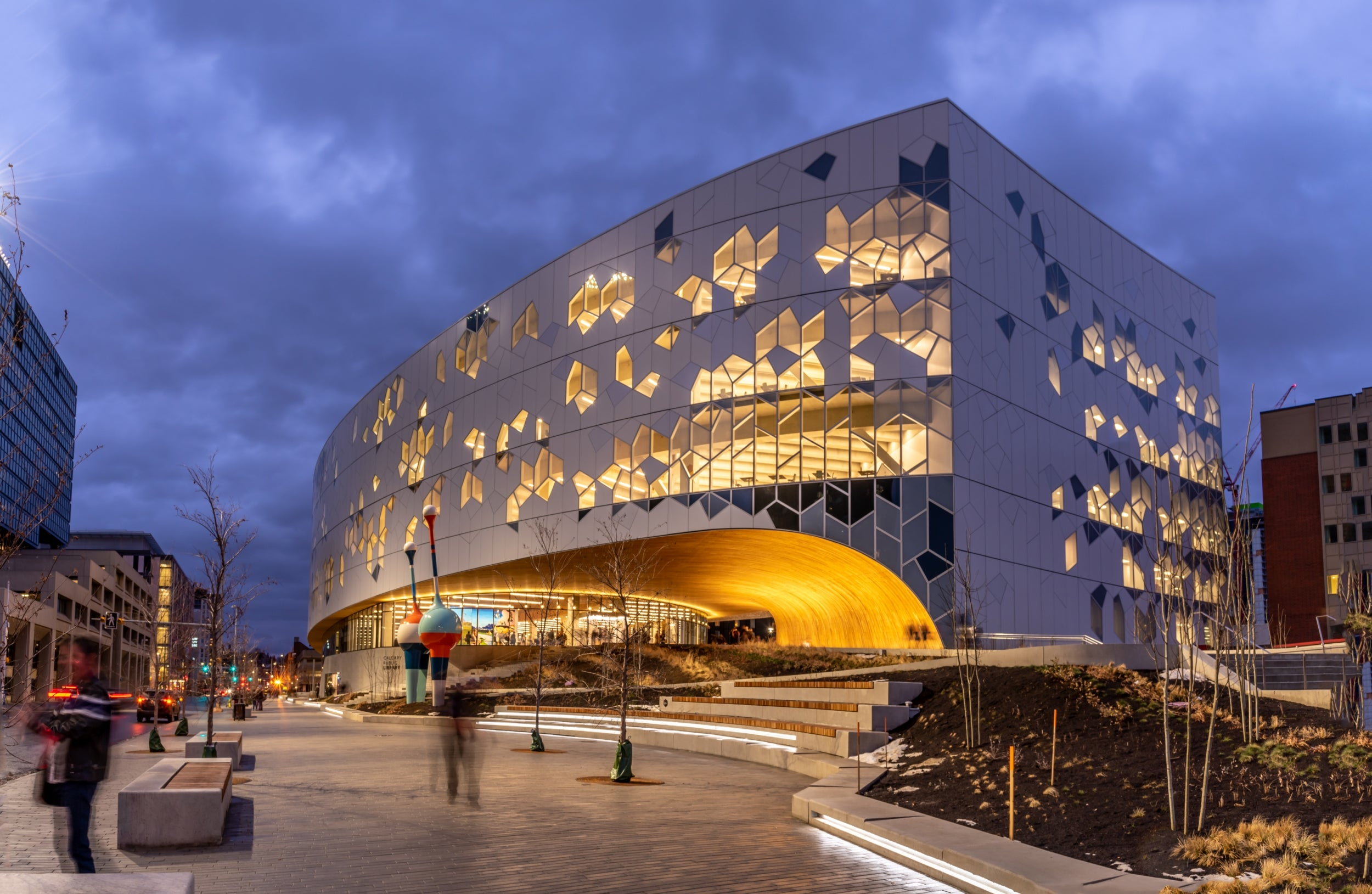Calgary, Alberta: A spectacular library adds to a once-neglected neighbourhood