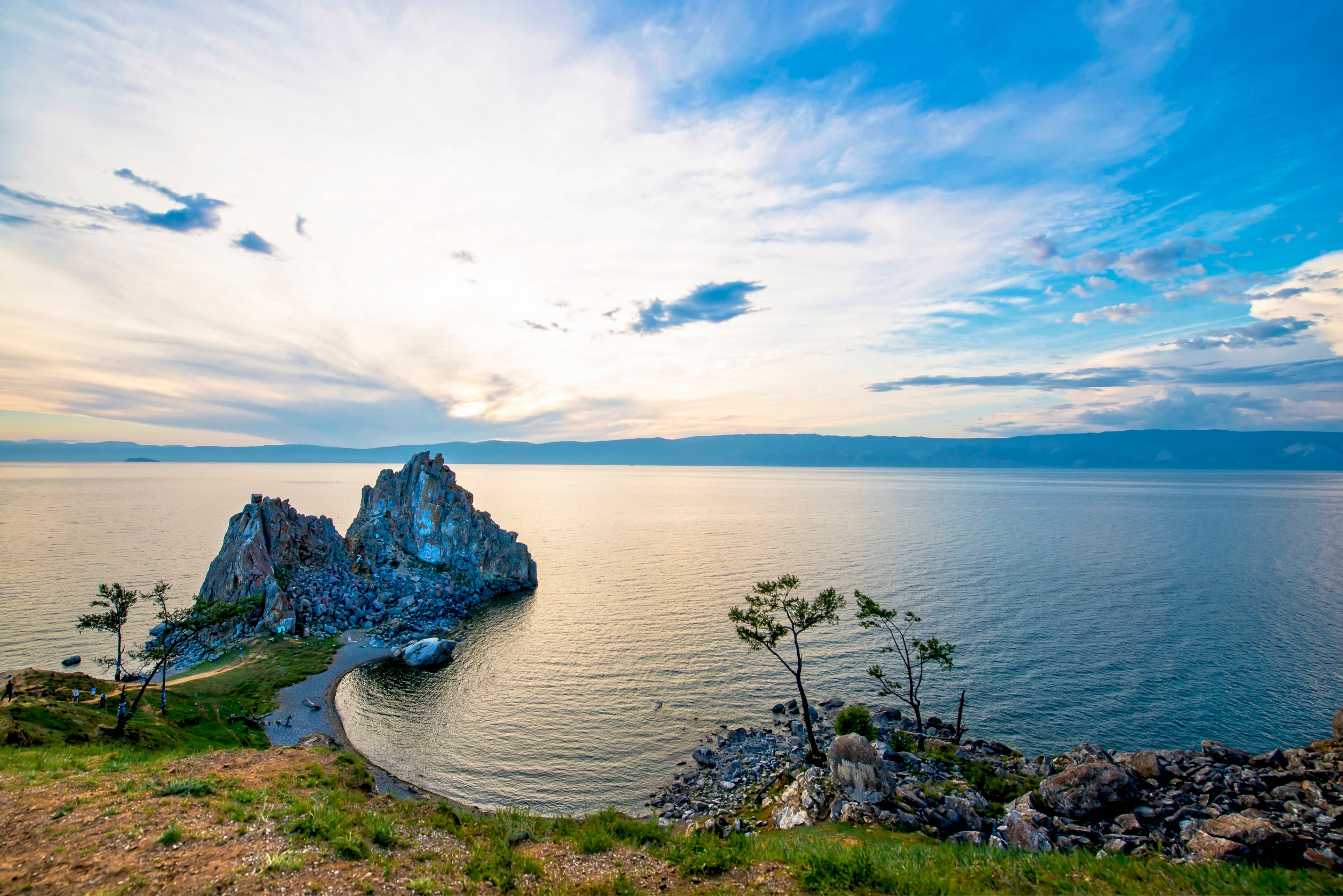 Olkhon Island, Lake Baikal, Russia: A natural wonder resisting the threats of development