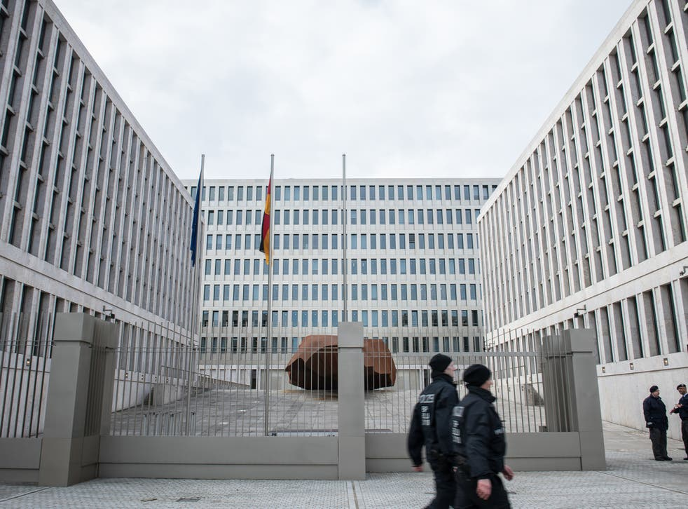 The $1.23bn complex covers 10 hectares and houses some 4,000 of the German Intelligence Agency's 6,500 staff