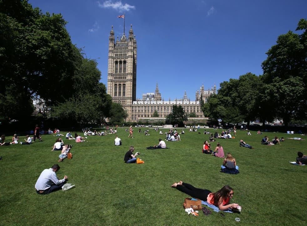 Victoria Tower Gardens would be home to a new Holocaust museum that has objectors say would 'dominate' the area