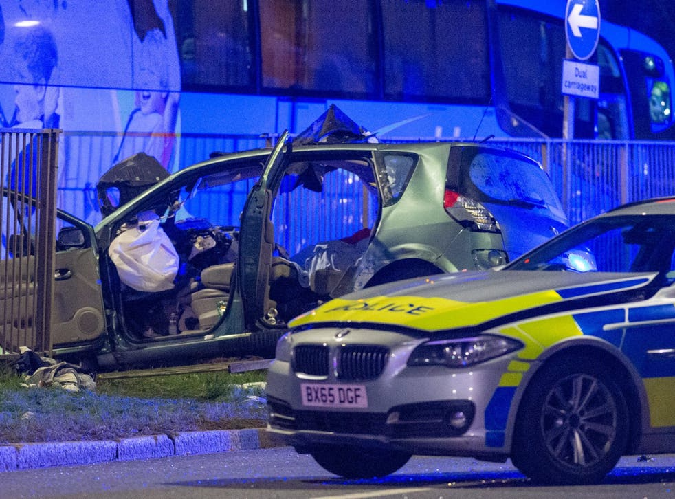 A police pursuit has resulted in a fatal road traffic collision involving a police vehicle, car and a coach.. Credit: Peter Manning