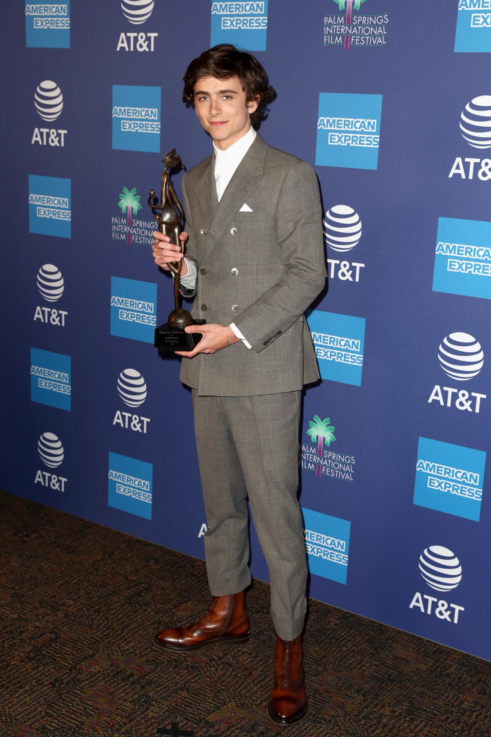 Timothée Chalamet's best red carpet looks, from his