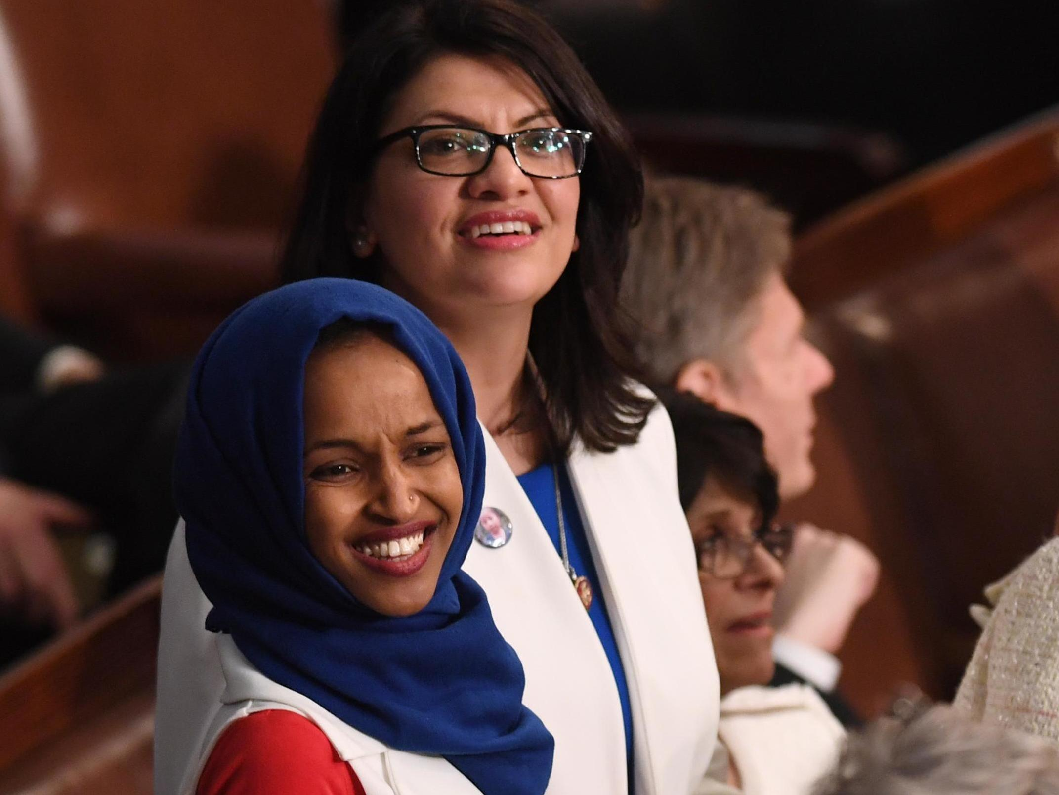 Trump impeachment: Democrats Ilhan Omar and Rashida Tlaib sign pledge to oust president