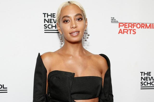 Honoree Solange Knowles attends the 70th Annual Parsons Benefit on 21 May, 2018 in New York City.