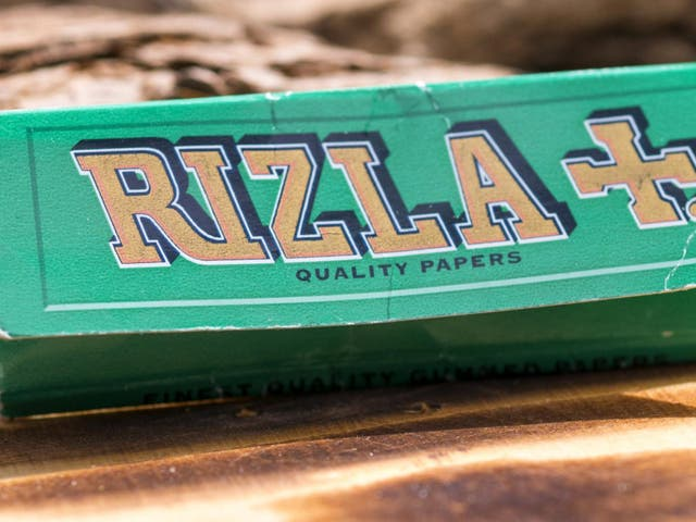 The adverts were intended to emphasise Rizla's new packaging