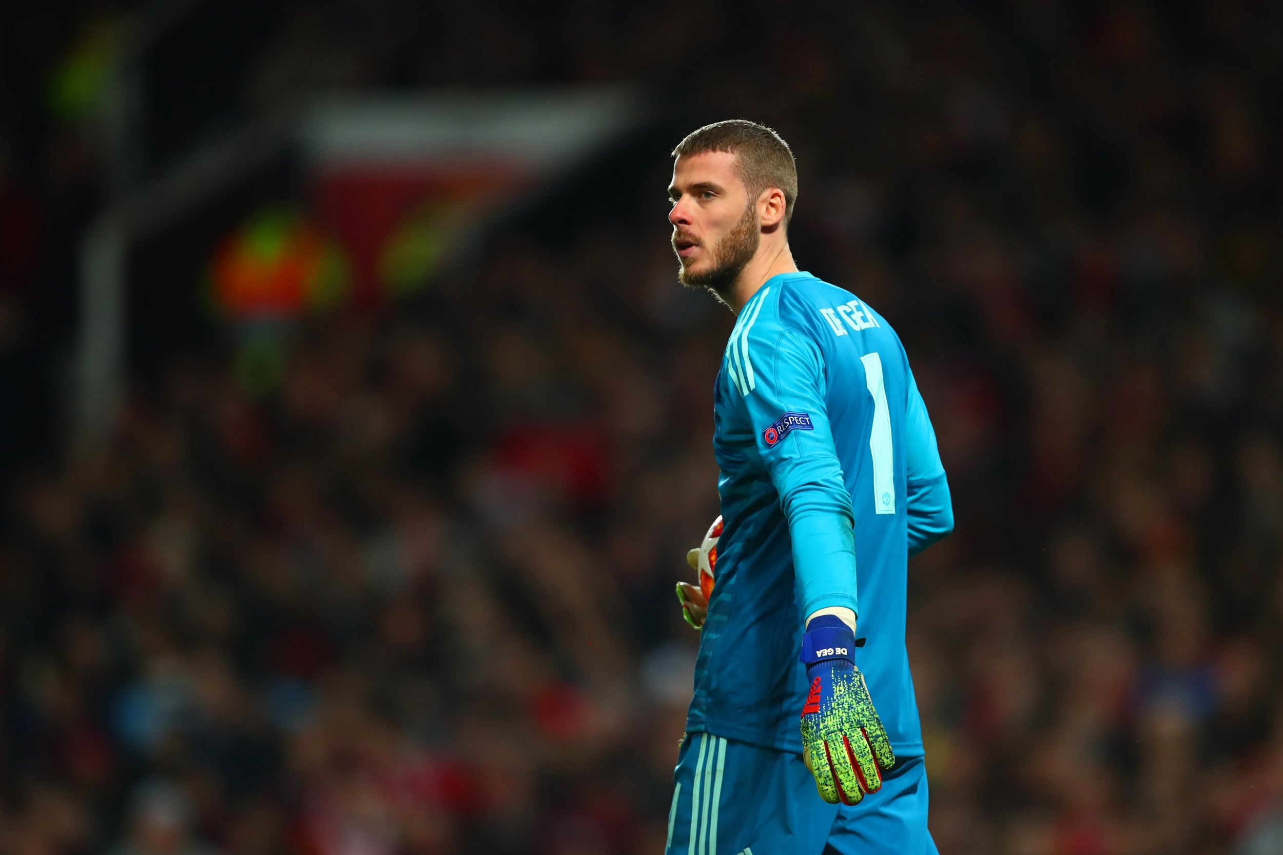 David de Gea - 8 out of 10