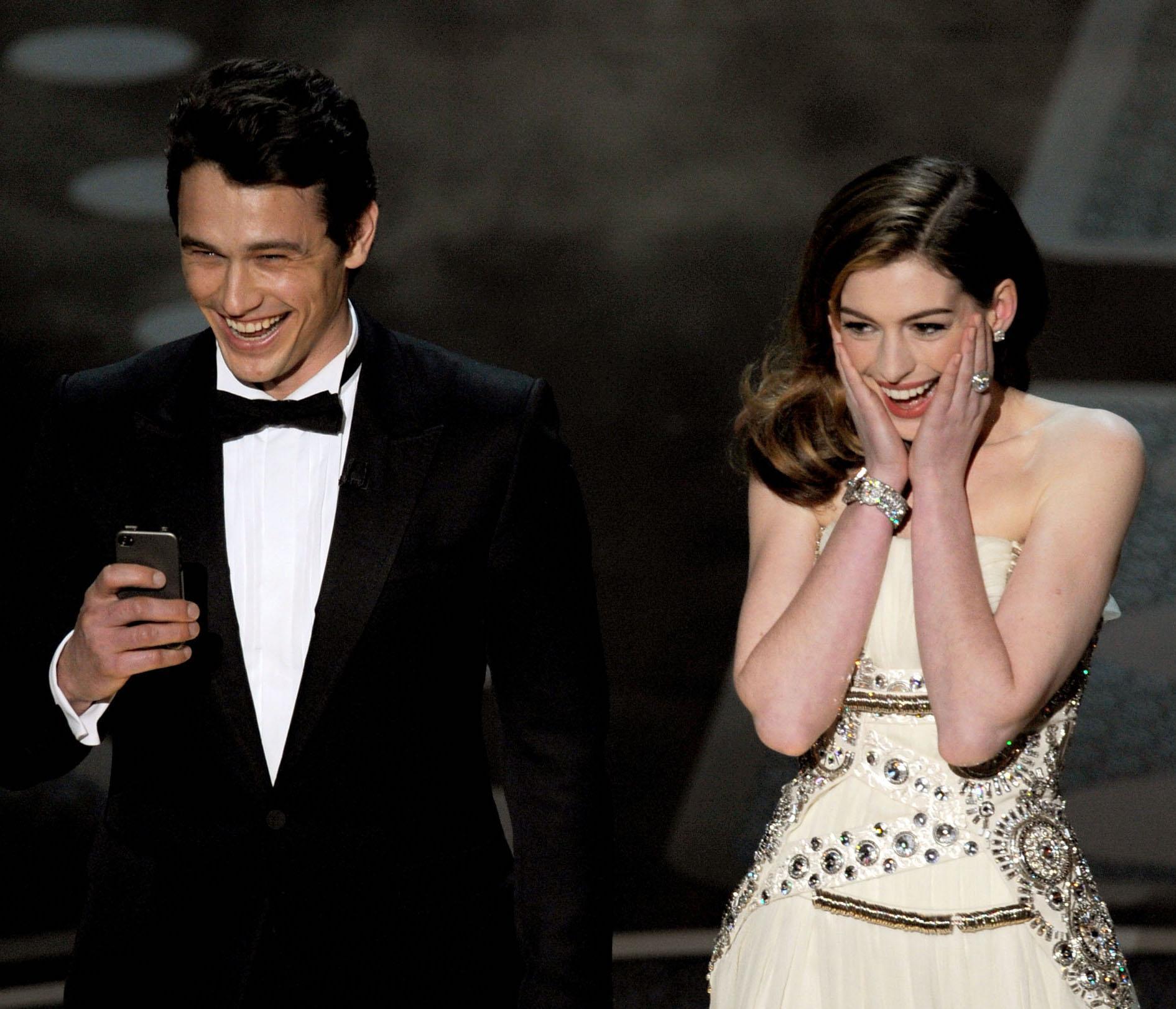 James Franco & Anne Hathaway