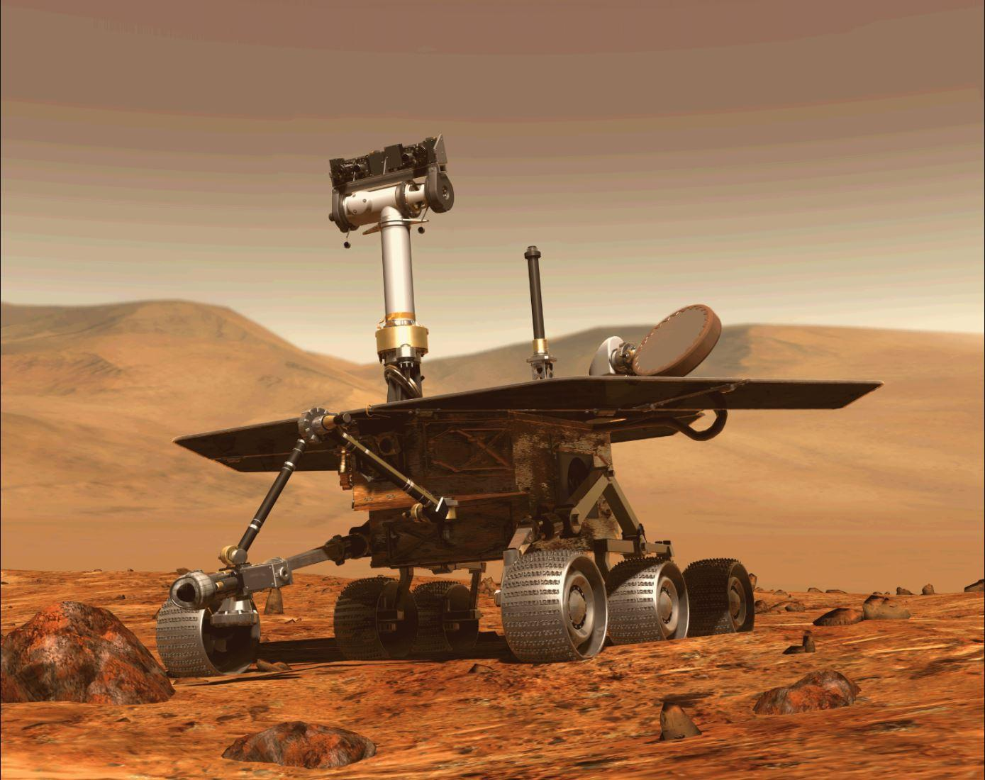 Nasa reveals the last thing its Opportunity Mars rover saw before it died