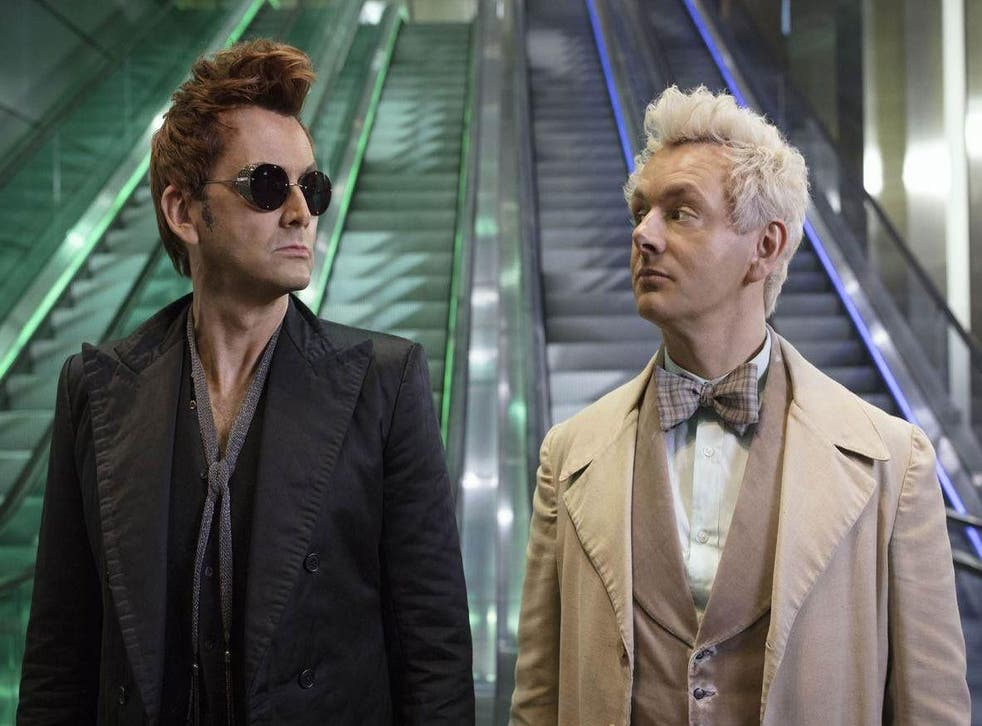 David Tennant and Michael Sheen in 'Good Omens'