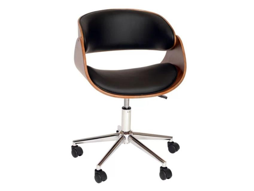 Nice office chairs uk Ergonomic Chair For Those Willing To Sacrifice Some Ergonomic Adaptability In Exchange For Beautiful Looking Bargain Langley Streets Olmstead Midback Desk Chair Could Calibre Office Furniture Best Ergonomic Office Chairs The Independent
