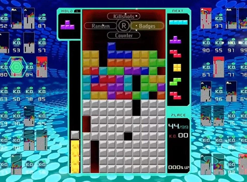 Tetris 99 has become an unexpected sensation in the battle royale genre of video games