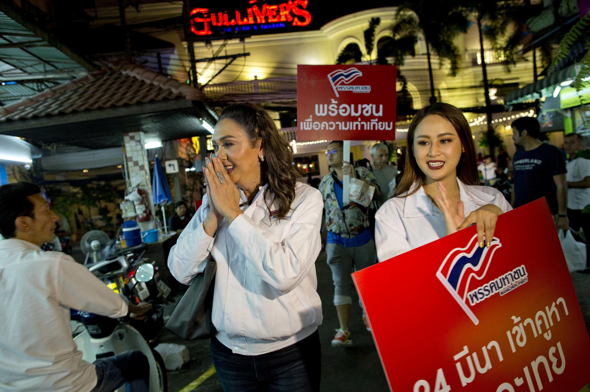 Image result for thailand transgender candidate