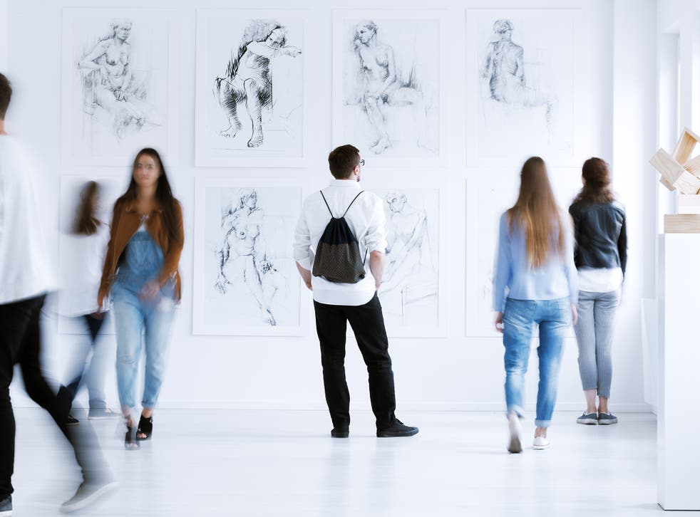 Art psychotherapists are looking to art to aid them in clinical work