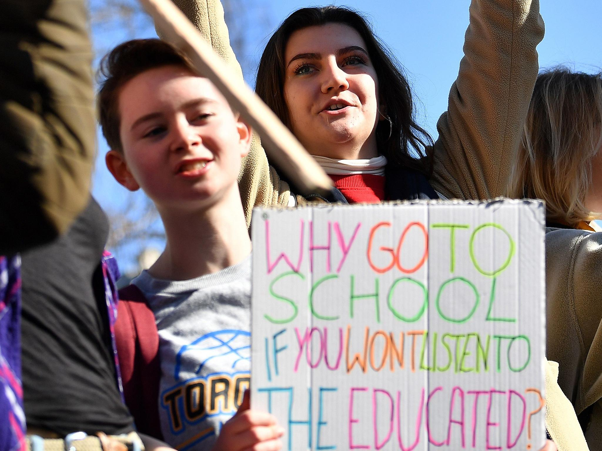 Students Skip School For Climate Change | NinjaJournalist
