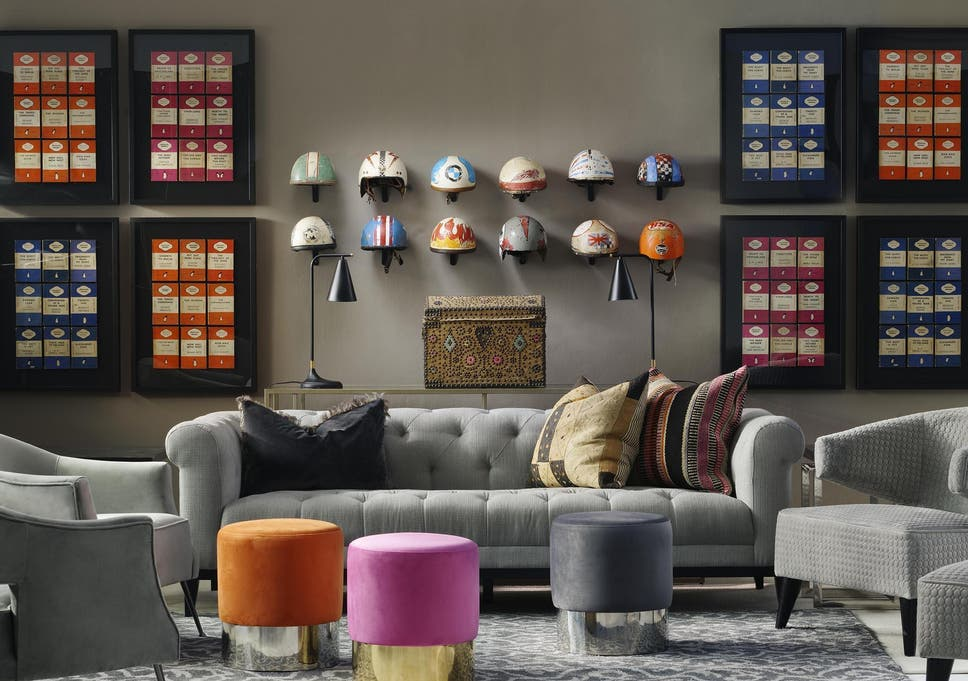 play pick n mix with your decor adding different textures and patterns