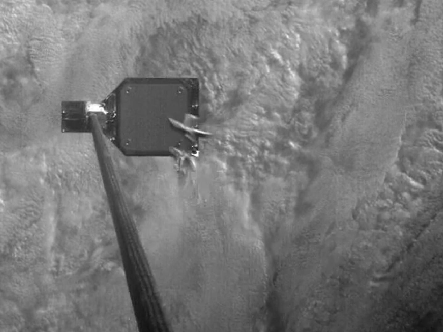 Harpoon Impales and Captures Space Junk Floating in Orbit