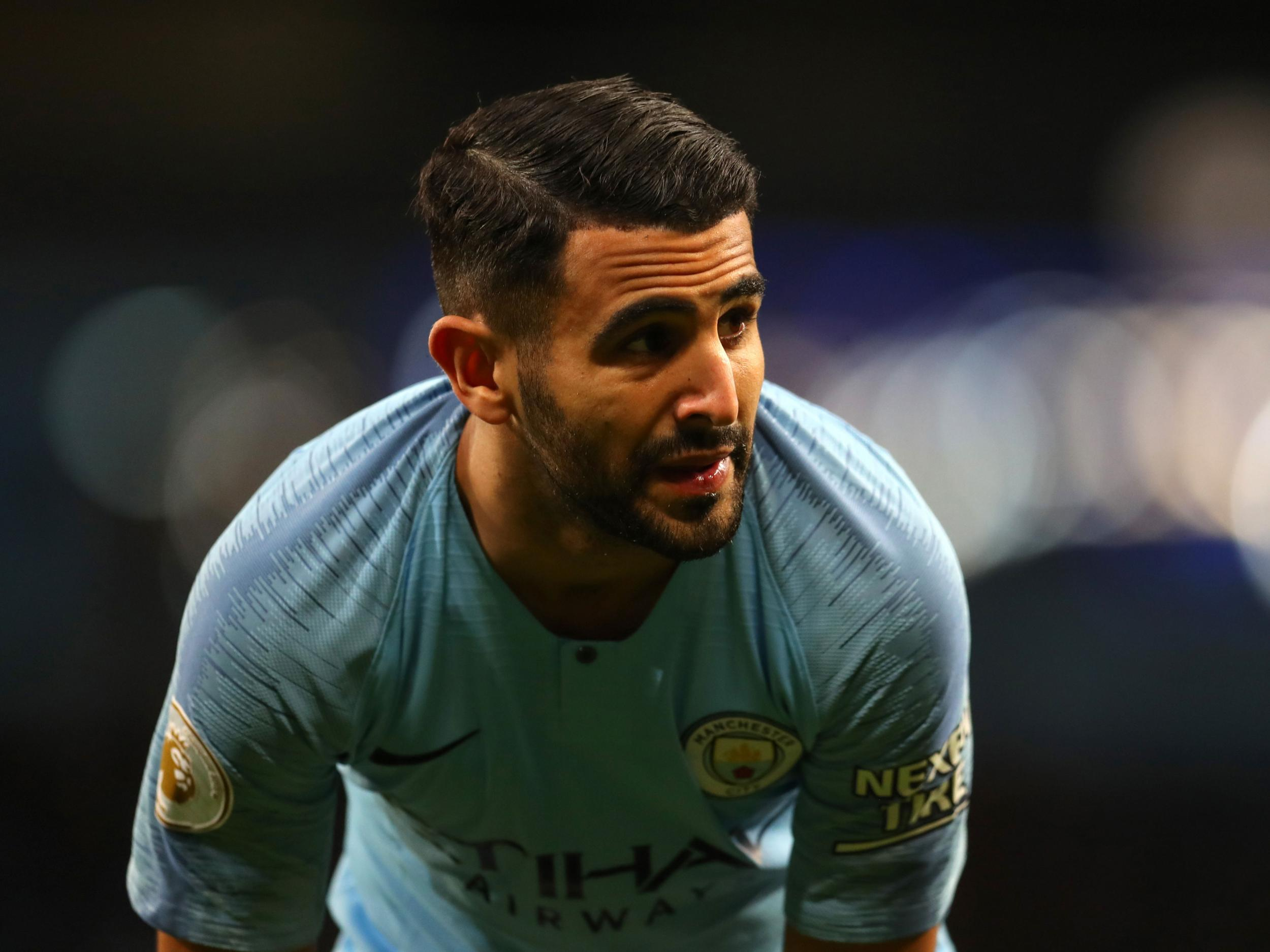 Manchester City news: Pep Guardiola reveals why Riyad Mahrez hasn't been playing
