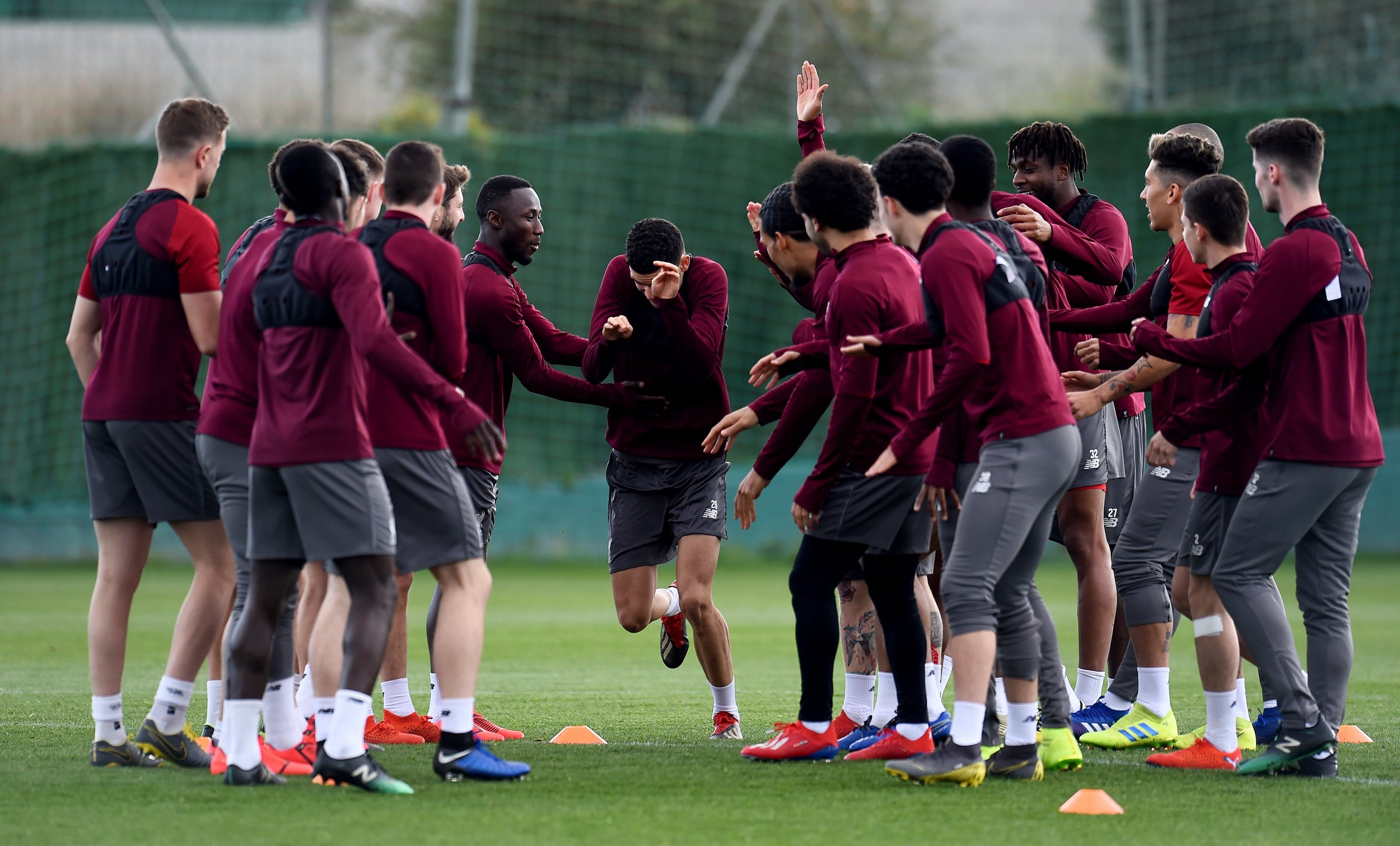 Inside Liverpool's Marbella training camp and what they