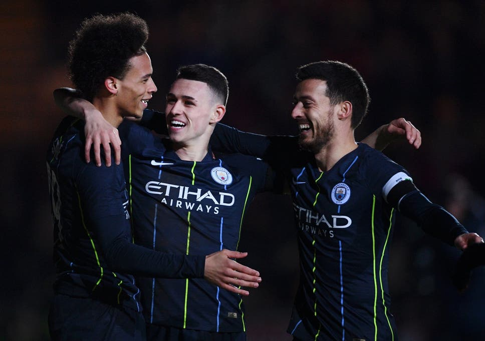 a75a784f9 Manchester City end Newport s FA Cup adventure and remain on course for  clean sweep with 4-1 victory