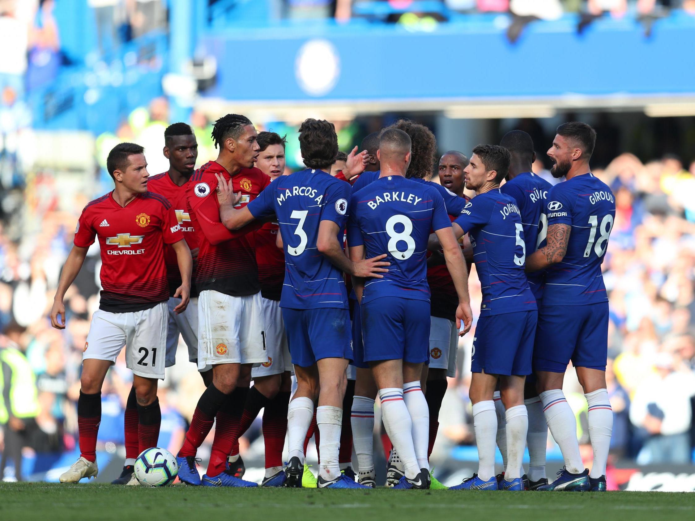 Image result for Chelsea man utd