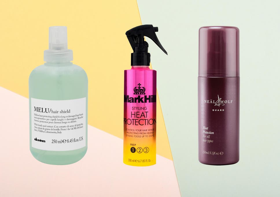 9 best heat protection hair sprays | The Independent
