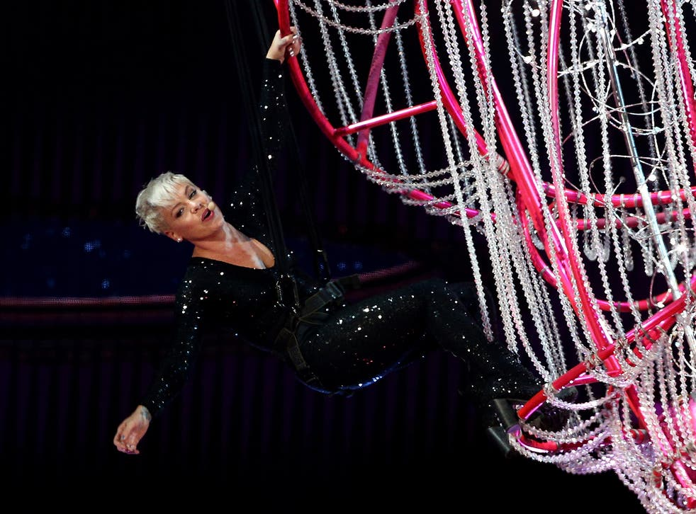 Pink, a fabulous and fascinating artist, will win the accolade this year... but more influential than Joni Mitchell?