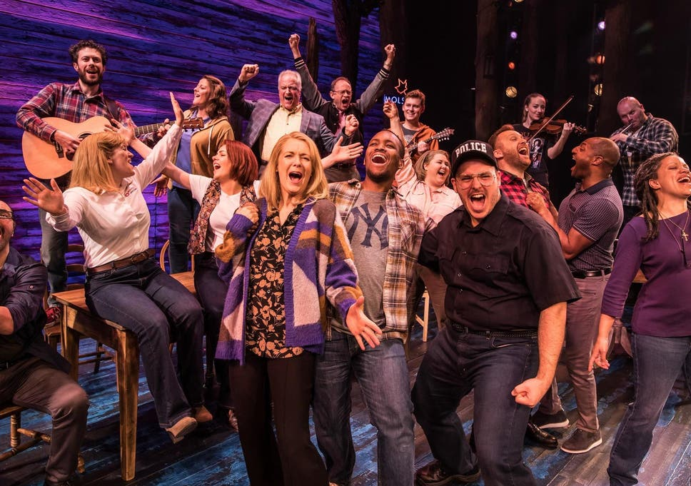 cheapest price low price sale high fashion Come from Away, Phoenix Theatre, review: Drama thrives on ...