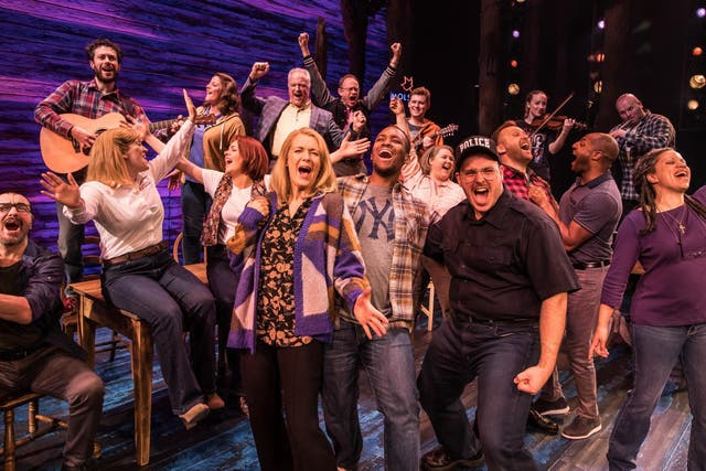 'Come From Away' is a warm group hug of a musical