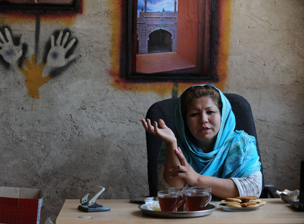 Haidari's supporters call her the 'mother of a thousand children' after the number of Afghan addicts she has reportedly saved