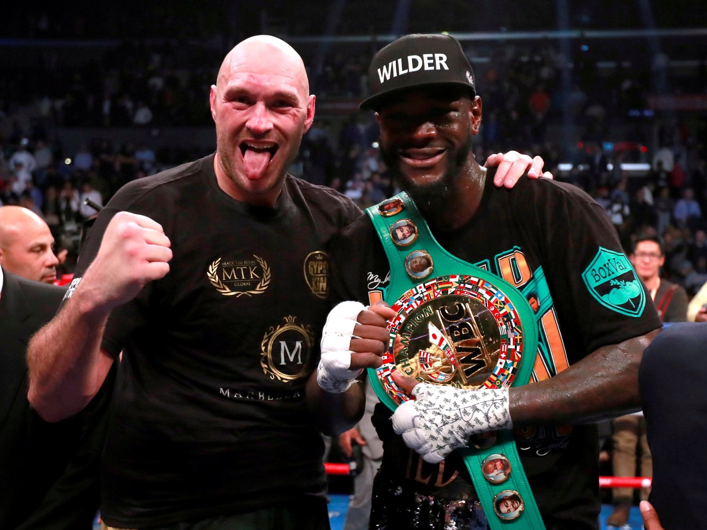 Tyson Fury fight: Purse splits for Brit's rematch vs Deontay Wilder and trilogy revealed by Bob Arum