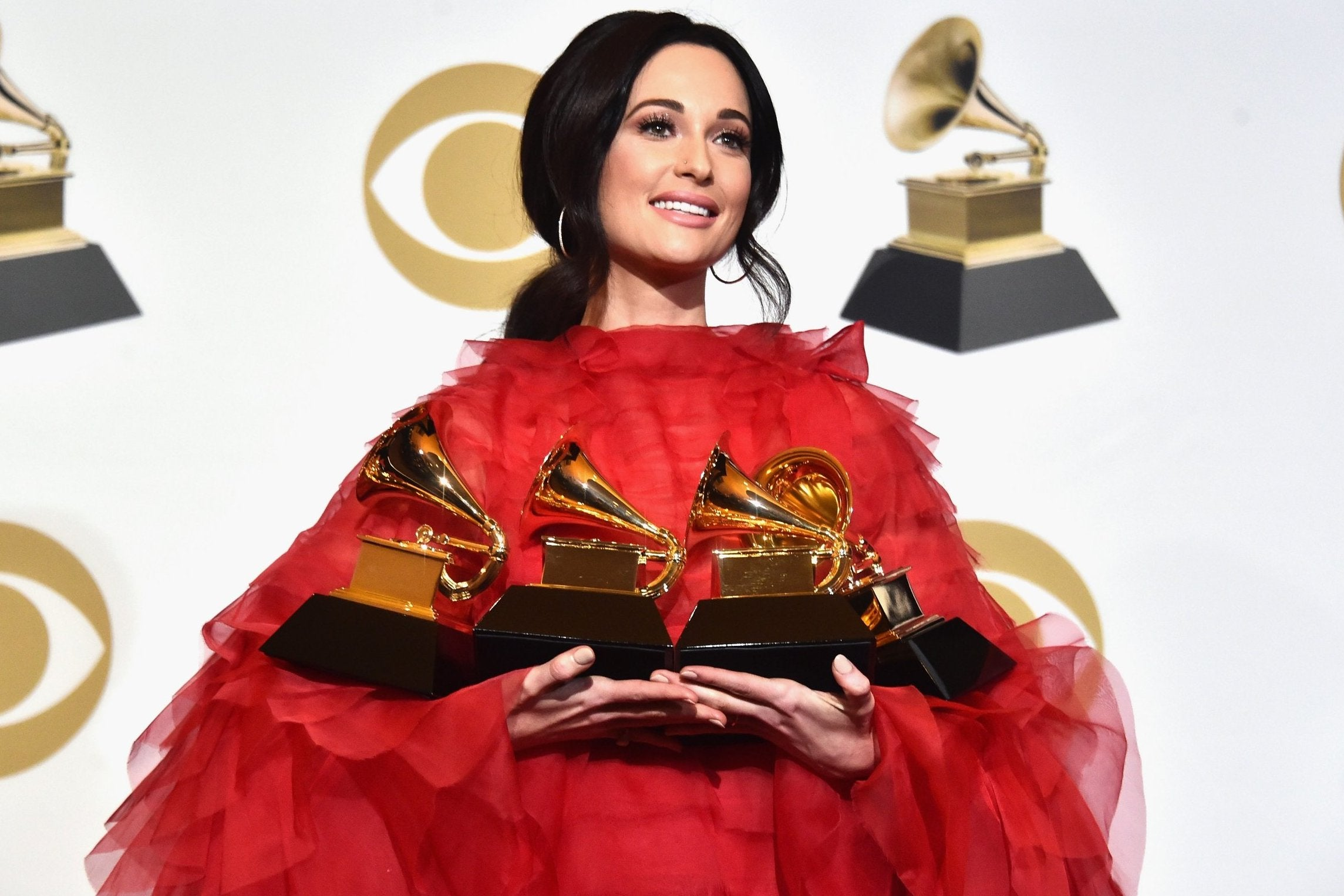 Kacey Musgraves commends Grammys for improving on 'previous lack of female representation'