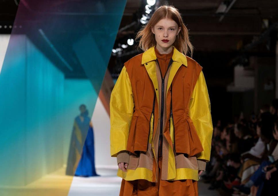 53d5303cda2a8 London Fashion Week: From fanciful feathers to feminist orations ...