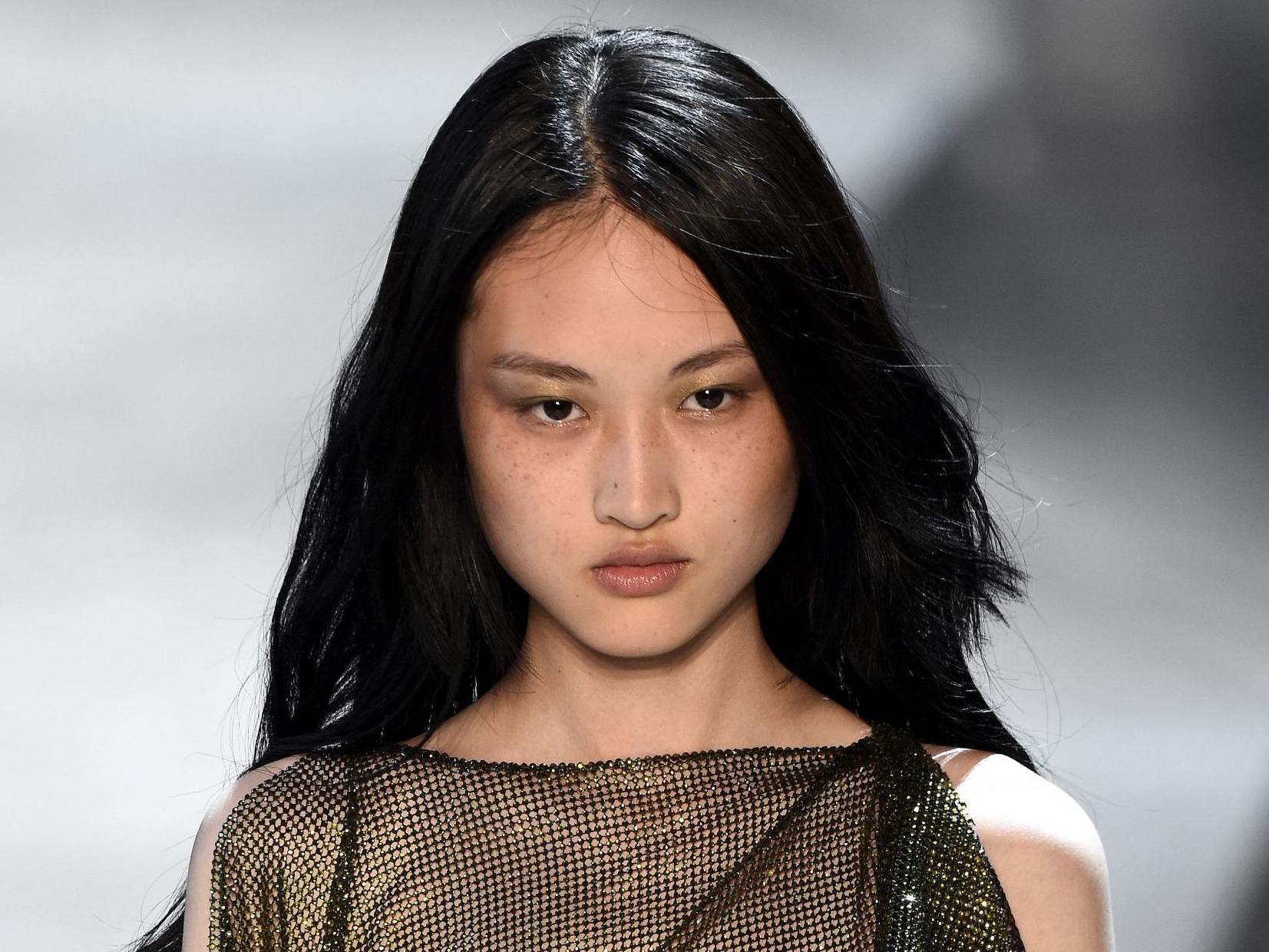 66f248fb Zara campaign featuring model with freckles sparks debate in China