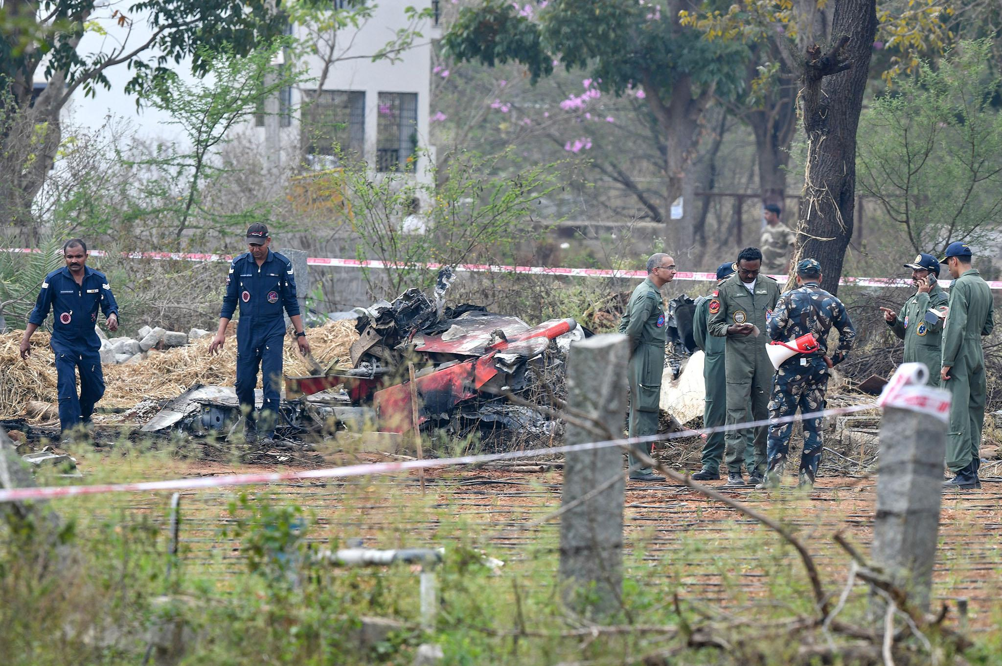 India plane crash: Two jets collide in deadly air show rehearsal