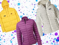 10 best women's puffer and quilted jackets for walking