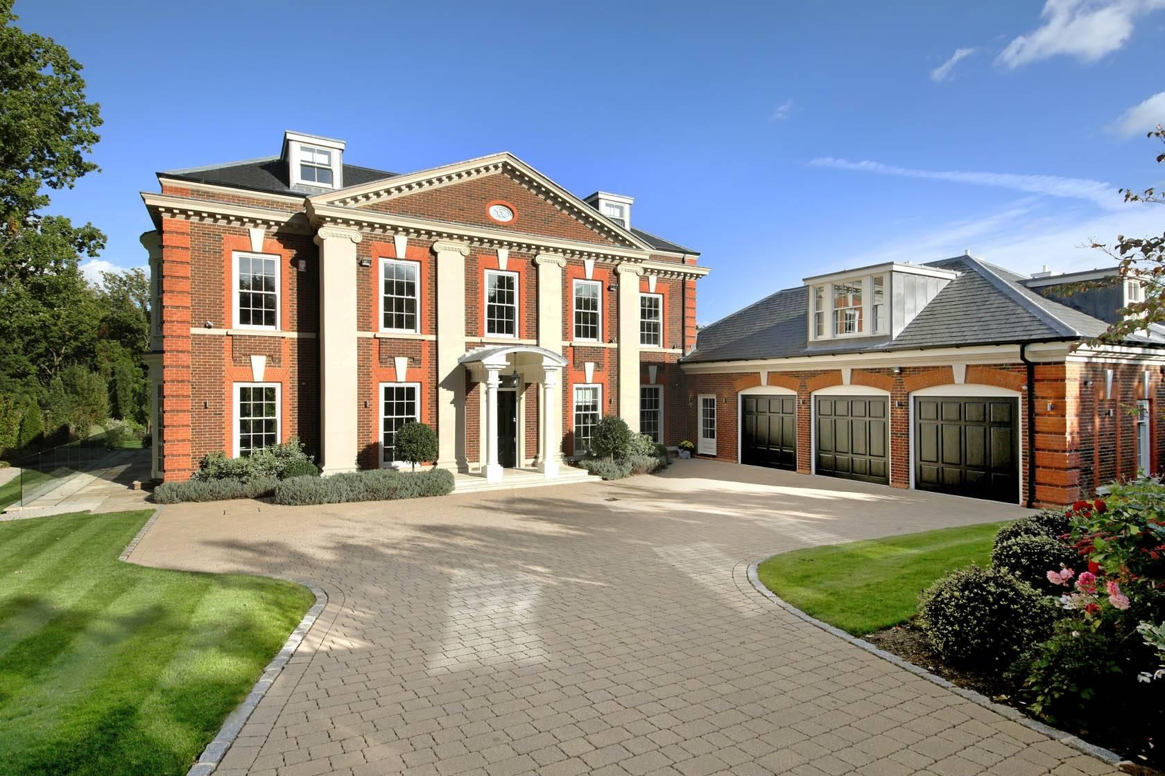 Mega Mansion With Garages For Supercars For Sale In Surrey For £5.5m