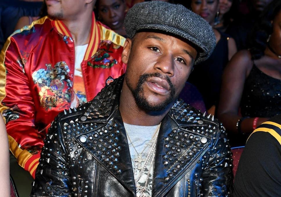 f0df0d93ecf Floyd Mayweather supports Gucci following blackface controversy (Getty)