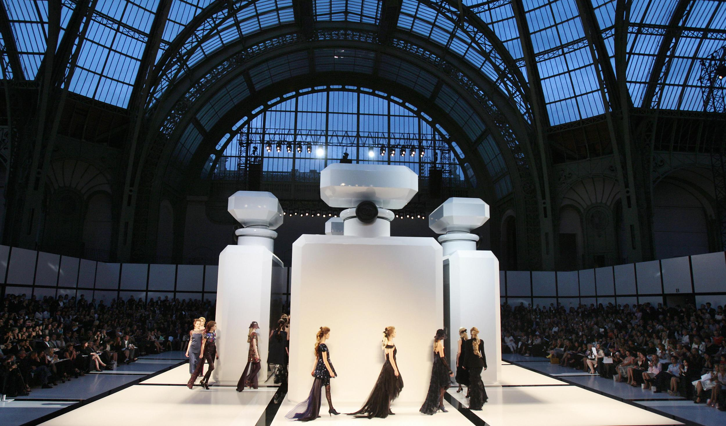 Karl Lagerfeld: Chanel's most memorable runway sets curated
