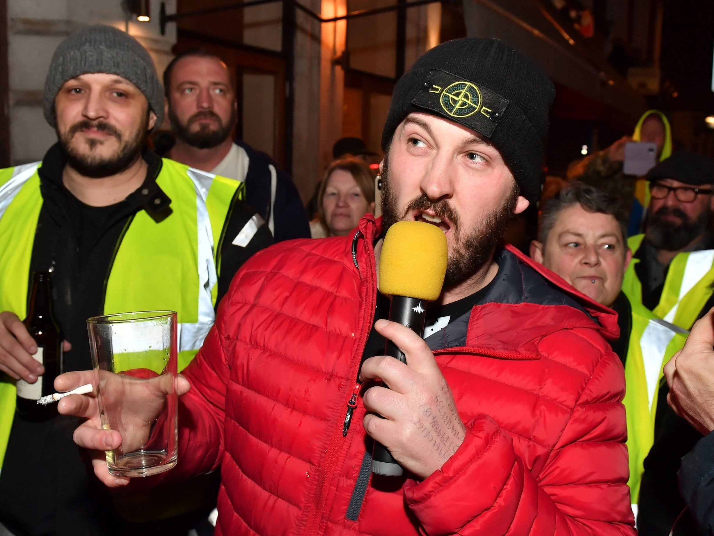 James Goddard: 'Yellow vest' organiser charged with racially aggravated harassment