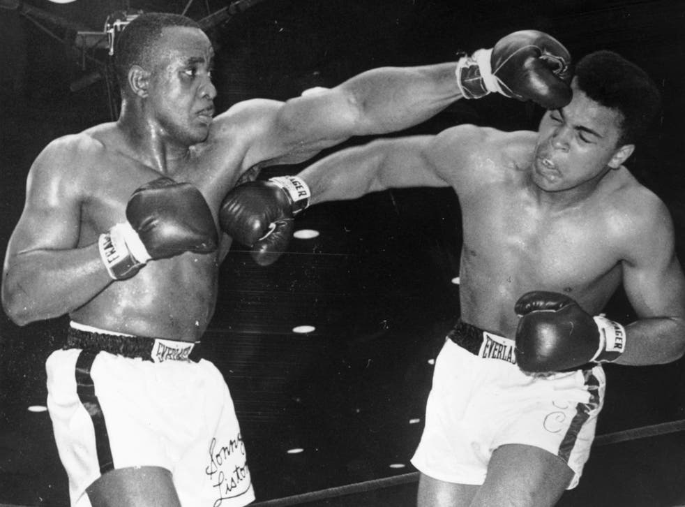 Cassius Clay defeats Sonny Liston to become the world heavyweight champion in 1964