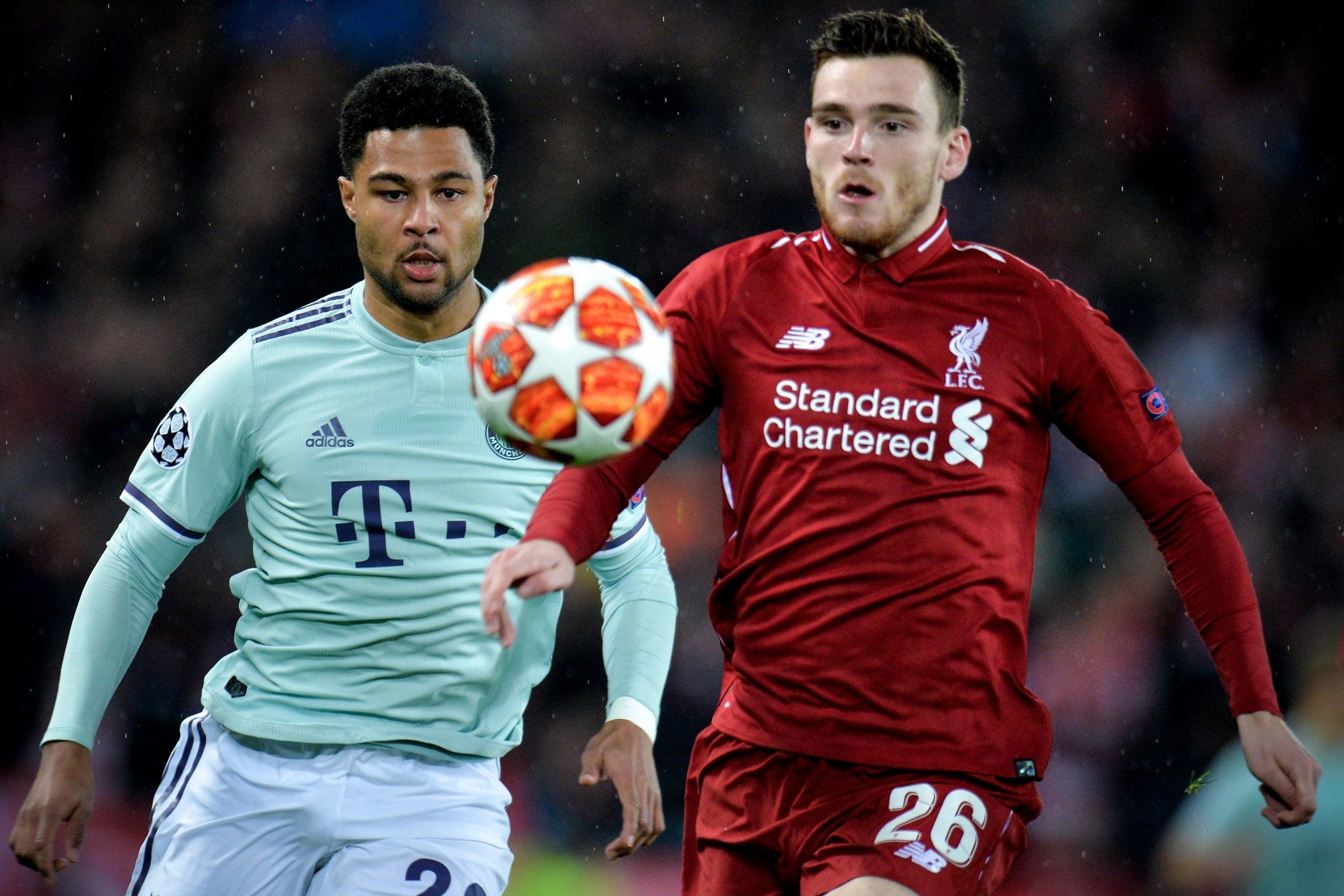 Liverpool vs Bayern: Andrew Robertson confident of progression in Champions League despite Anfield stalemate