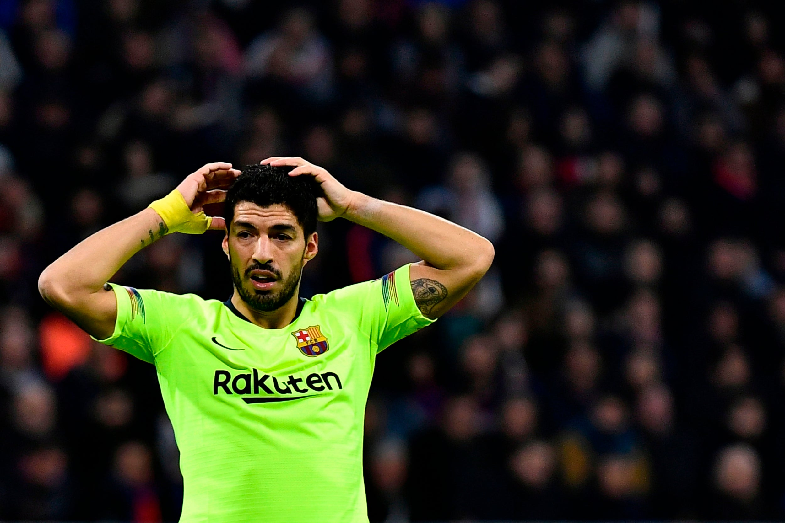 Lyon 0-0 Barcelona – player ratings from the Champions League tie as Luis Suarez struggles