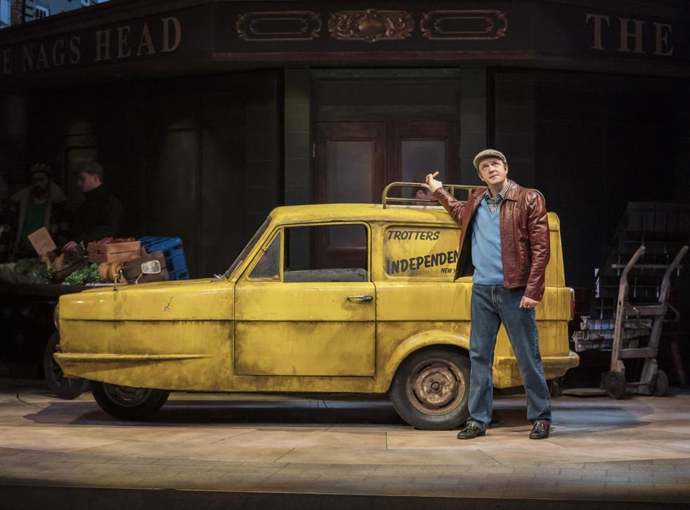 Tom Bennett as Del Boy in 'Only Fools and Horses: The Musical'