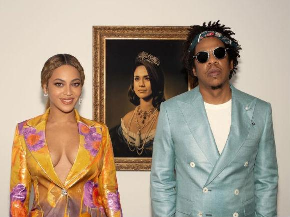 Brits 2019: Beyonce says Meghan Markle queen painting was in honour of Black History Month