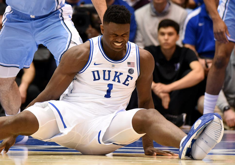 c38854a7ff Zion Williamson  Nike open investigation after college basketball ...