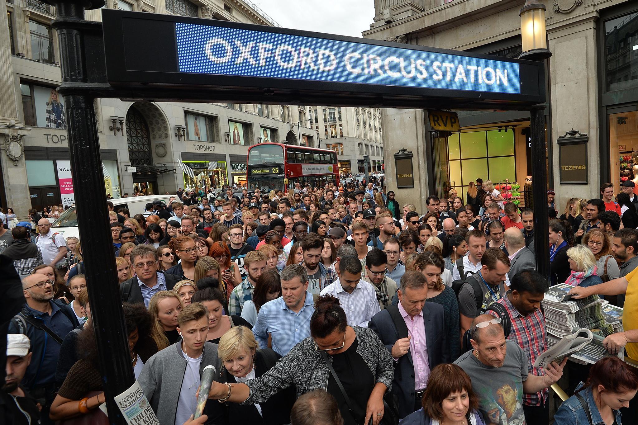 6. Oxford Circus
